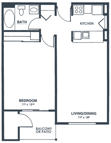 Unit A Floor Plan 2