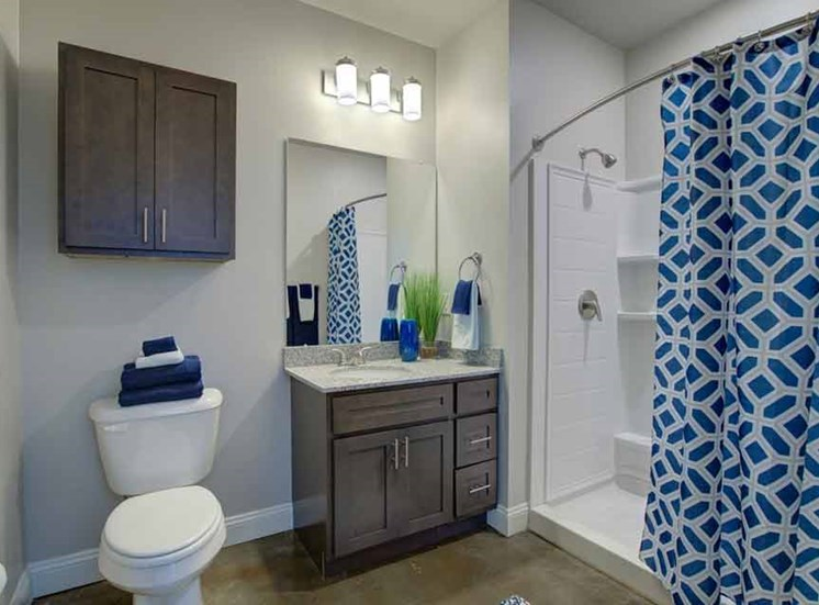 Modern Bathroom Accessories at Beckstone Apartments, South Carolina, 29486