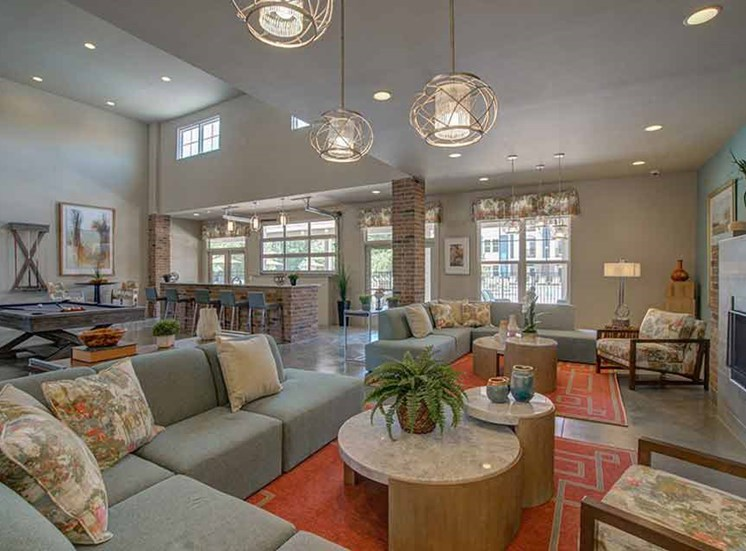 Clubhouse And Family Entertainment Area at Beckstone Apartments, Summerville, South Carolina