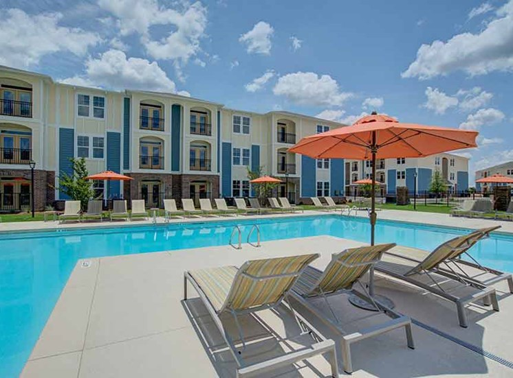 Poolside View at Beckstone Apartments, Summerville, SC, 29486