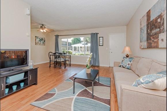 living room - Fillmore Garden Apartments