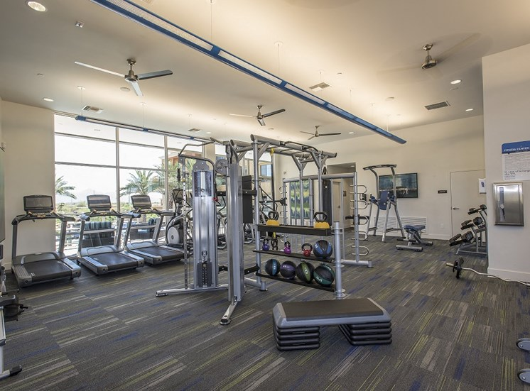 Club-style Fitness Center