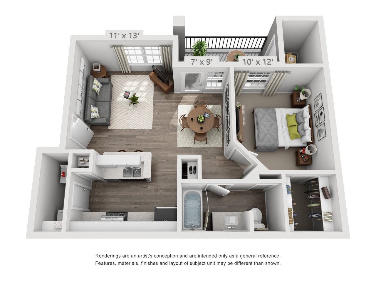 Hawthorne Floor Plan 1