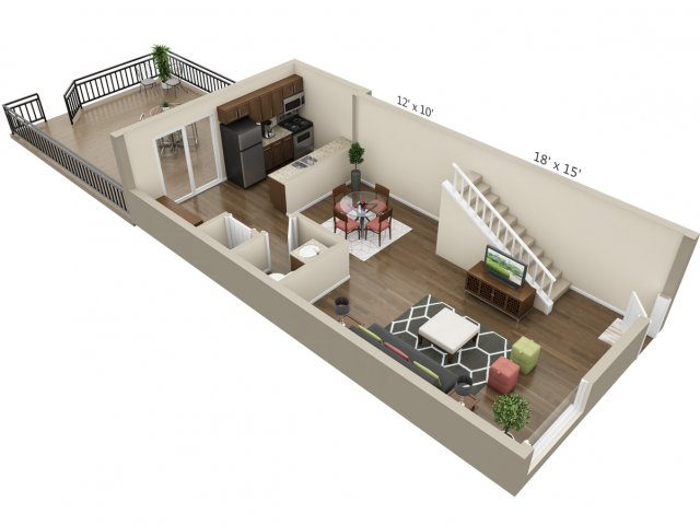 Luxury one two three bedroom apartments in denver co - 3 bedroom apartments downtown denver ...