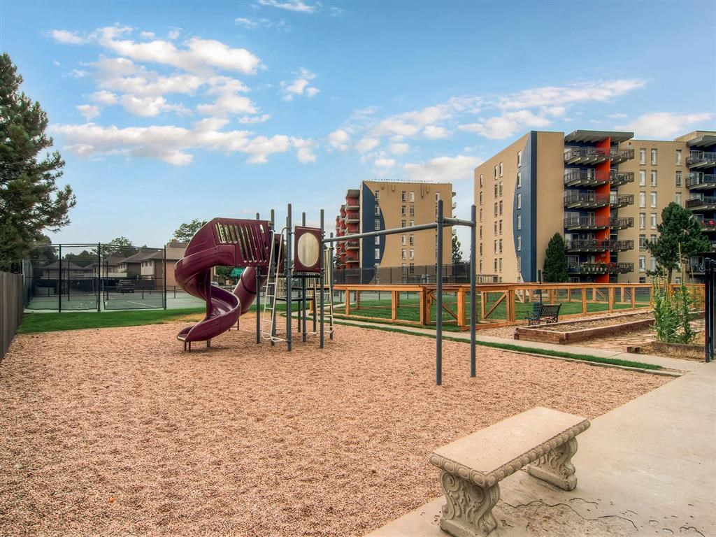 Apartments for Rent in Denver-The Lex at Lowry Apartments Playground