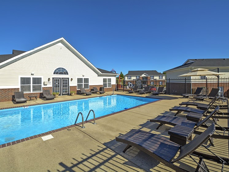 Sundeck, Outdoor Pool, Clubhouse