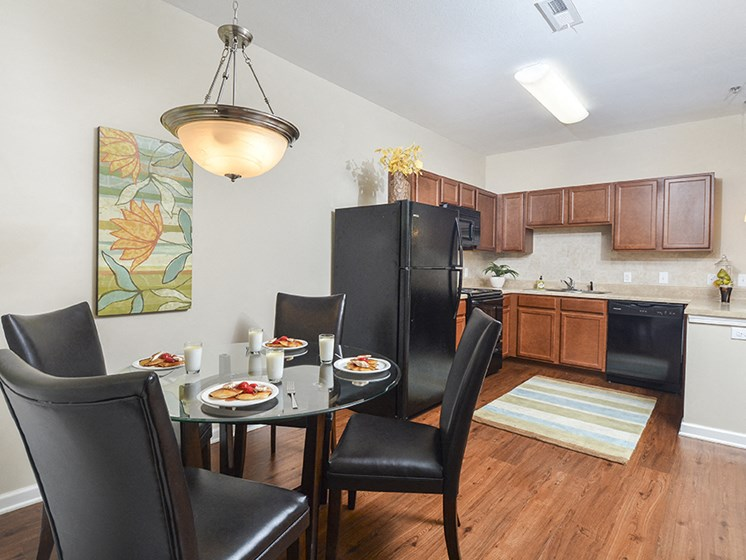 Spacious Kitchen and Dining Room
