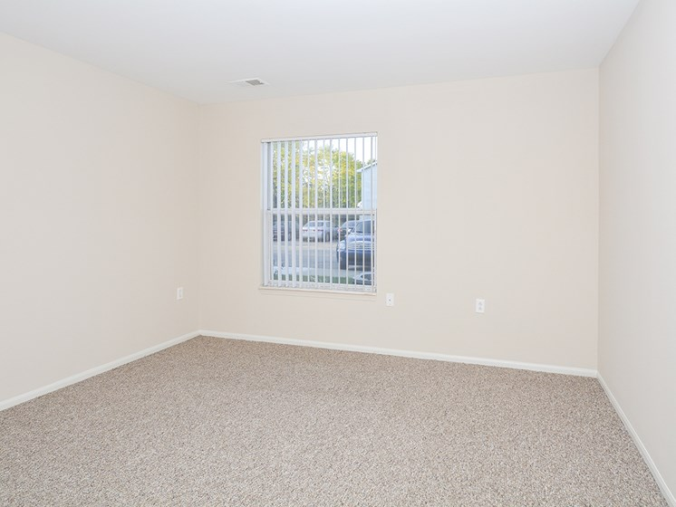 Large Window with Blinds