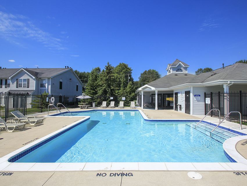 Spacious Outdoor Pool with Sundeck