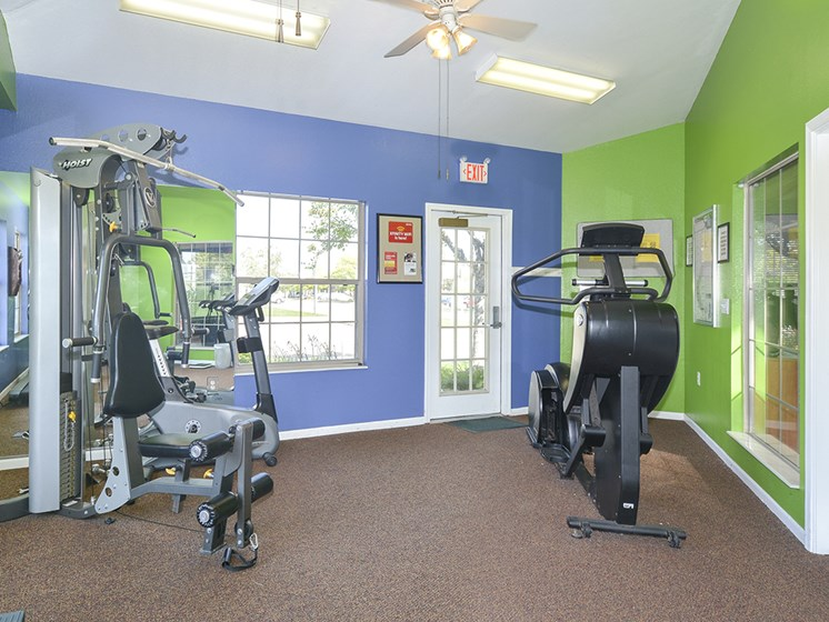Fitness Center with Cardio and Weights