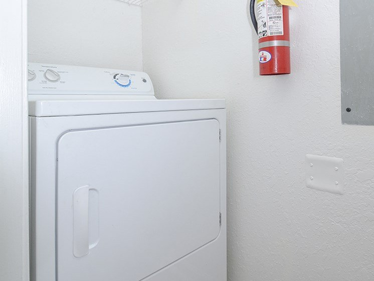 Connections for Washer and Dryer