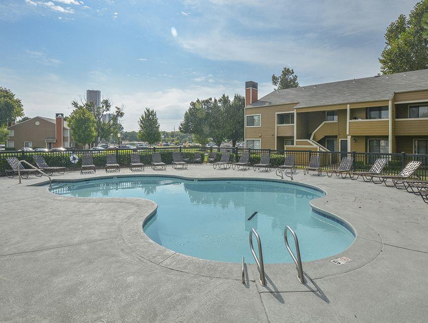 Spacious Pool Sundeck