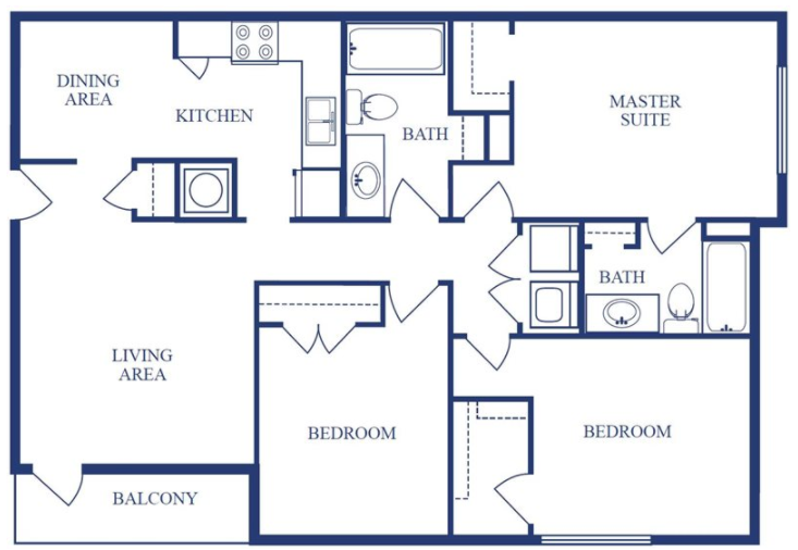 The Magnolia Floor Plan 4