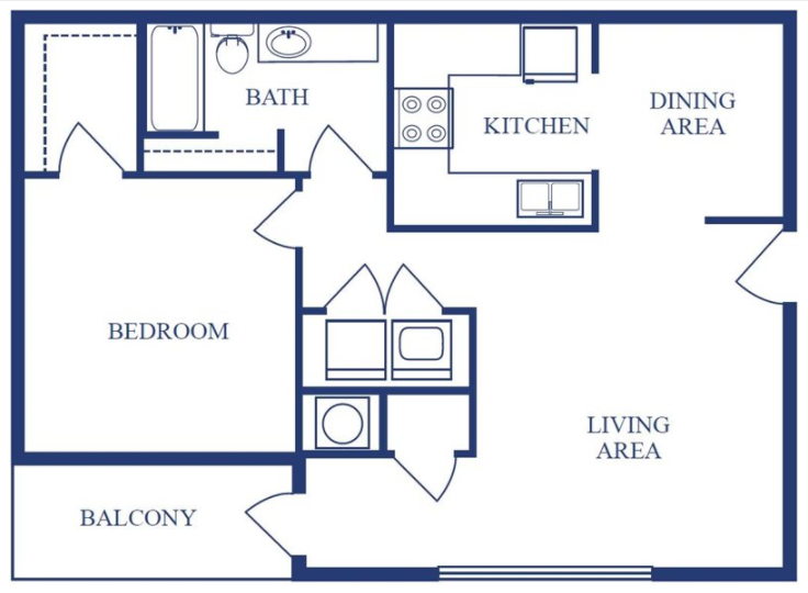 The Maple Floor Plan 1