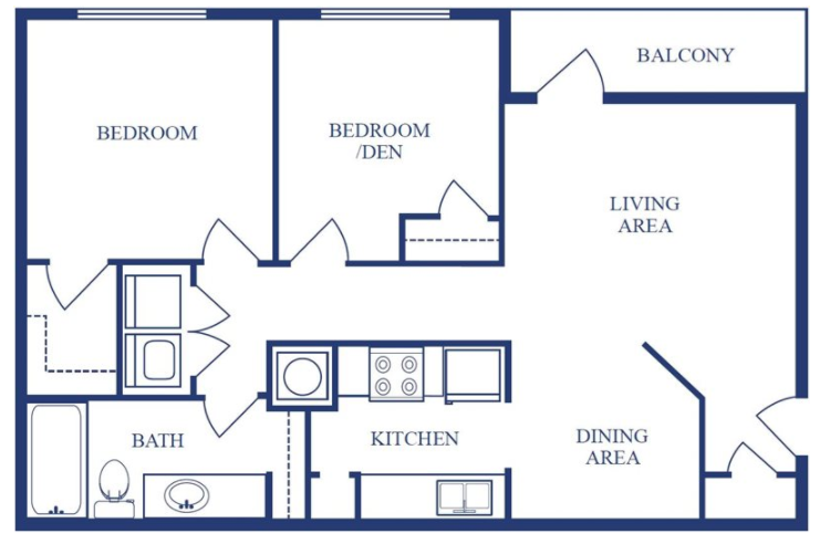 The Poplar Floor Plan 2