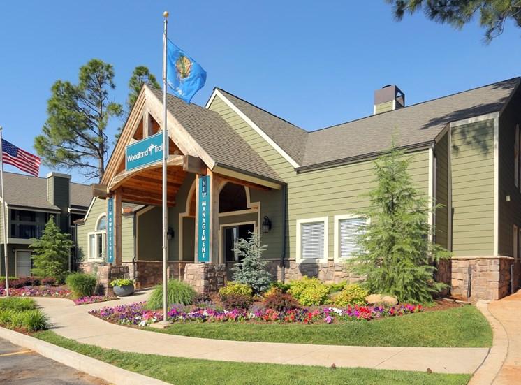 exterior northwest oklahoma city apartments
