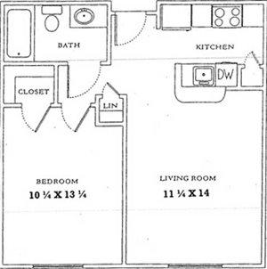 1 Bedroom/1 Bath