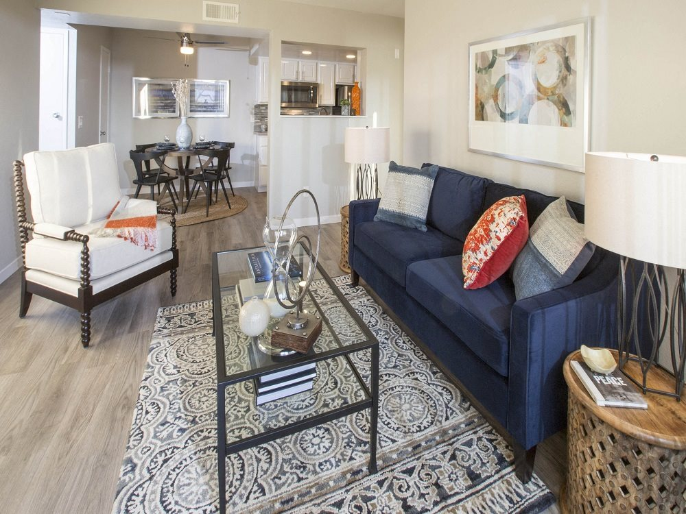Pet-Friendly Apartments in Santa Maria CA - Cassia Apartments Living Room