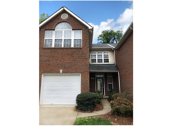 Townhome Exterior at Crystal Lake Townhomes, Greensboro, NC