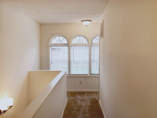 Spacious Hallways at Crystal Lake Townhomes, Greensboro, NC