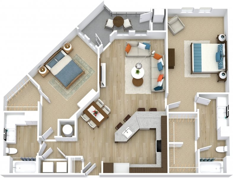 Scarlet Floor Plan 5