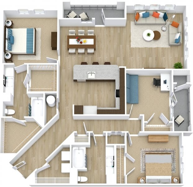 Umber Floor Plan 10