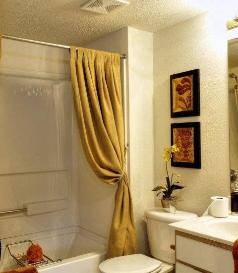 Shower Enclosures at Treybrooke Village Apartments, Greensboro, NC, 27406