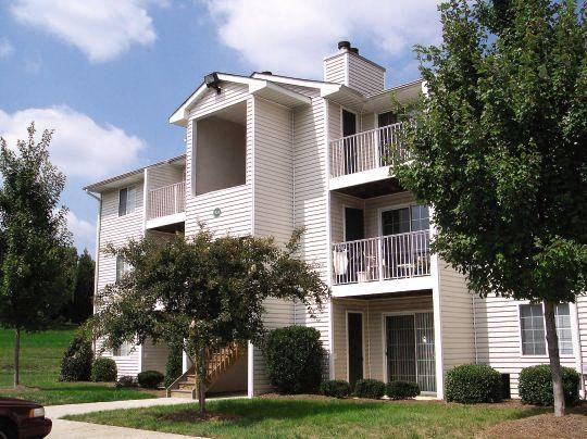 Apartment Complex at Treybrooke Village Apartments, Greensboro, North Carolina