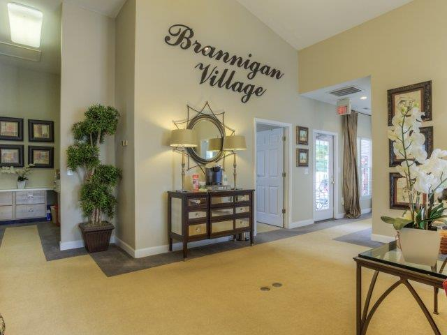 Community Clubhouse at Brannigan Village Apartments, Winston Salem, NC, 27127