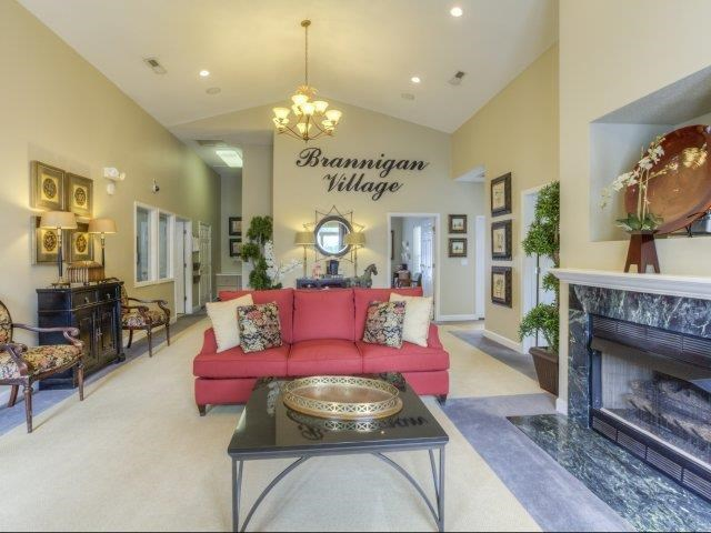Community Clubhouse at Brannigan Village Apartments, North Carolina, 27127