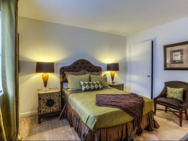 Extra-Comfortable Bedroom Furnishings at Brannigan Village Apartments, North Carolina, 27127