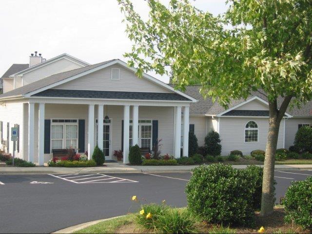 Front Office Entrance at Brannigan Village Apartments, North Carolina