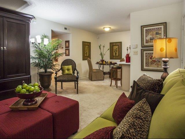 Formal Dining Room at Brannigan Village Apartments, Winston Salem, NC