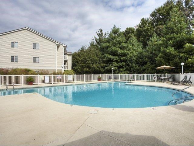 Resort-Style Pool at Brannigan Village Apartments, Winston Salem