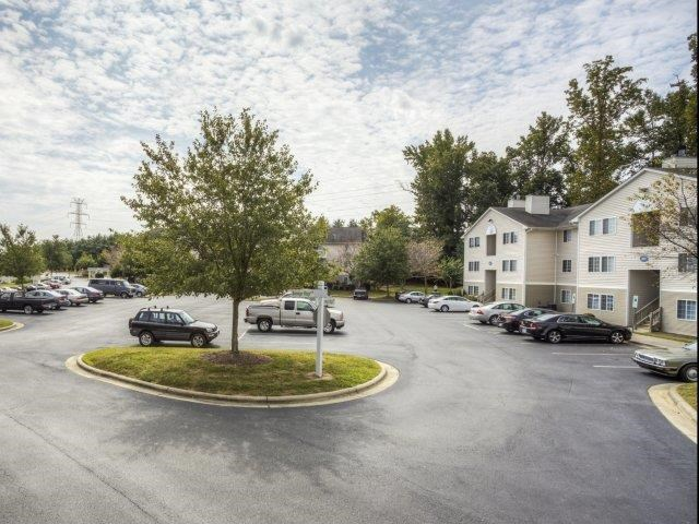 Ample Parking Space at Brannigan Village Apartments, Winston Salem, North Carolina