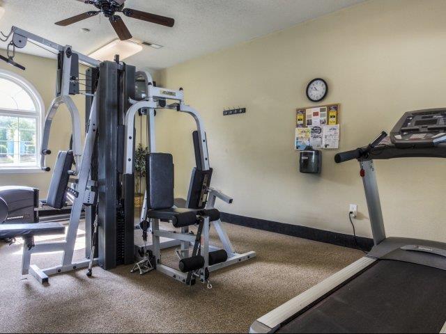 Fitness Center Machines at Brannigan Village Apartments, Winston Salem, NC