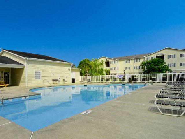 Refreshing Pool at River Landing Apartments, South Carolina