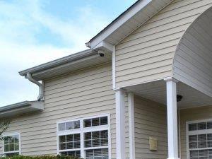Gated Front Entrance at River Landing Apartments, Myrtle Beach, SC, 29579