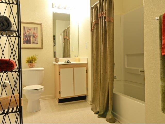 Bathroom Interior at River Landing Apartments, South Carolina