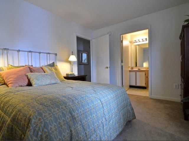 Extra-Comfy Bedroom Furnishings at River Landing Apartments, Myrtle Beach