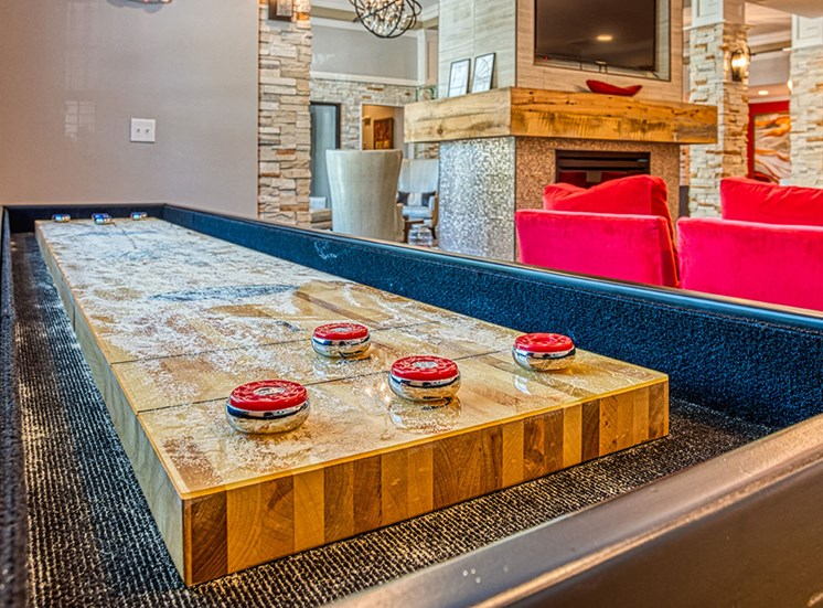 shuffleboard in asheville apartments