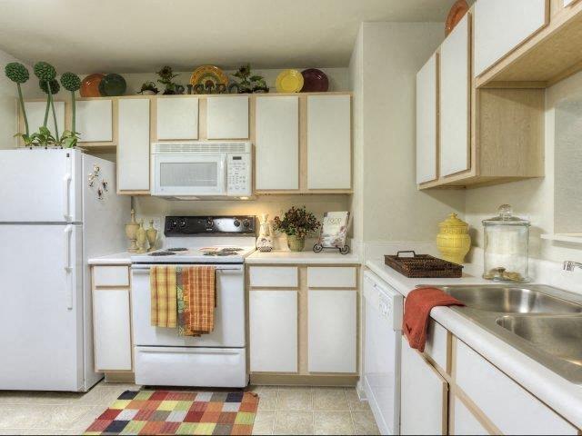 Abundant Kitchen Storage at Ascot Point Village Apartments, Asheville, North Carolina