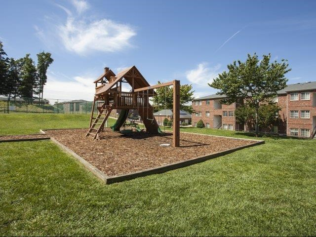Children's Play Areaat Ascot Point Village Apartments in Asheville. NC