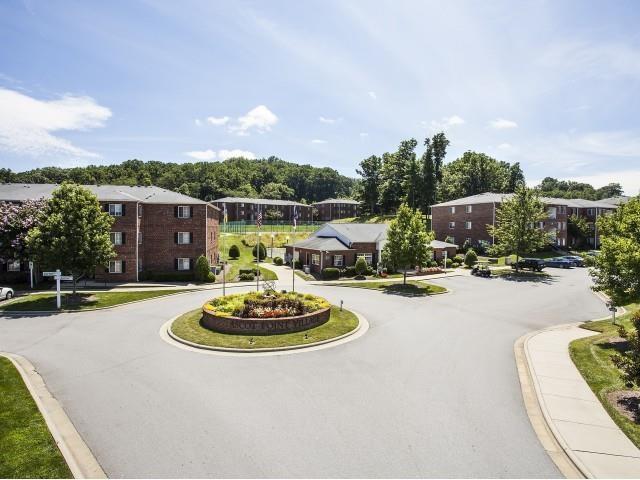 Garden Path at Ascot Point Village Apartments, Asheville, NC, 28803