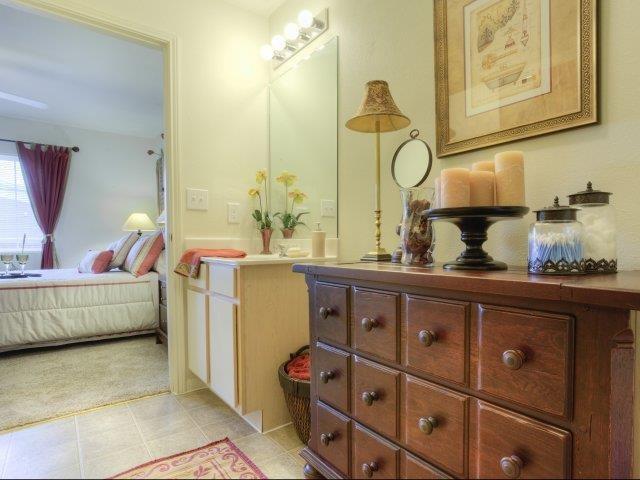 Spacious Bedrooms with En Suite Bathrooms at Ascot Point Village Apartments, Asheville