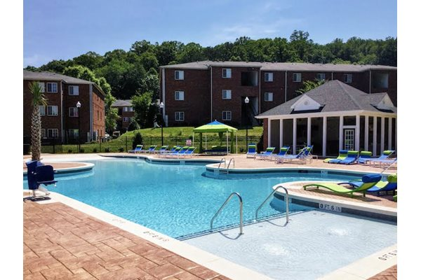Resort-Inspired Pool at Ascot Point Village Apartments, Asheville