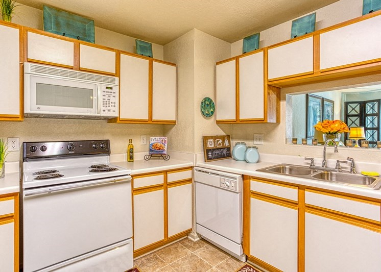 Fully-equipped Kitchen at Copper Mill Village Apartments, High Point, NC, 27265