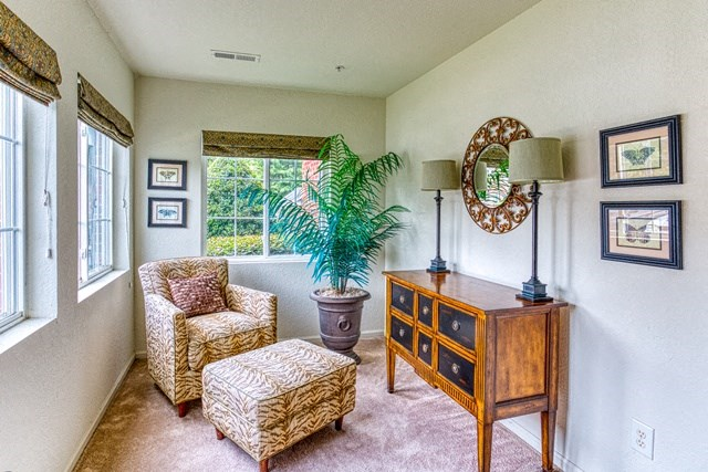 Relaxing Sunroom at Copper Mill Village Apartments, High Point, NC, 27265