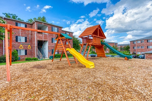 Lively Playground at Copper Mill Village Apartments, High Point, NC, 27265