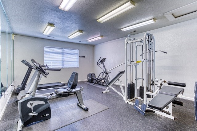 Modern Fitness Center at Copper Mill Village Apartments, High Point, NC, 27265